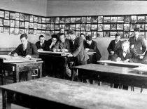 Universiteto Technikos fakulteto braižykla, apie 1927 m.