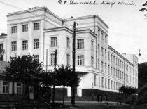 Lietuvos universiteto (nuo 1930 m. Vytauto Didžiojo universiteto) Didieji rūmai, 1929 m.