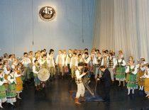 """KTU tautinio meno ansamblio """"Nemunas"""" 45-ųjų įkūrimo metinių jubiliejinis koncertas, 1994 m."""