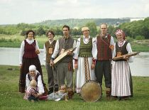"""Folkloro ansamblis """"Goštauta"""" folkloro festivalyje """"Atataria lamzdžiai"""", 2017 m."""