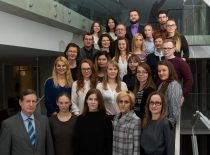 Sintetinės chemijos instituto kolektyvas, 2017 m. Direktorius – habil. dr. Algirdas Šačkus. (Jono Klėmano nuotr.)