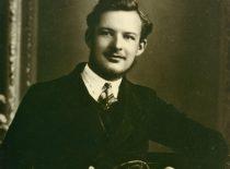 Adolfas Damušis – universiteto studentas, 1932 m. (Iš A. Damušio šeimos archyvo)