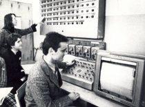 Inžinerinės ekonomikos fakulteto mokomoji laboratorija, XX a. 8-asis dešimtmetis.