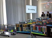 """2015 m. KTU Ekonomikos ir verslo fakultete buvo atidaryta """"Bloomberg"""" finansų ir rinkų laboratorija """"Bloomberg Financial Markets Lab""""."""
