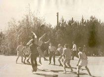 Ekonomistų šventė, 1973 m. Krepšinio varžybos.