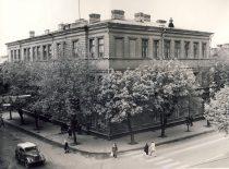 Buvę KPI Lengvosios pramonės fakulteto rūmai, kuriuose iki 1968 m. buvo rengiami inžinieriai ekonomistai