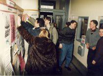 Fakulteto studentai, 1996 m.