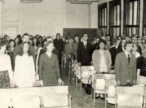 Diplomantų išleistuvės, 1975 m.