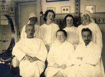 Su gydytojais Karo ligoninėje
