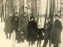 Su gydytoju Petrovu Alytuje 1921 m.