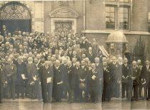 Tarptautiniame kongrese Amsterdame, 1929 m.