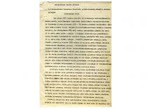 S. Kairio autobiografija, 1939 m. (Originalas – KTU muziejuje)