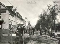 Vandentiekio tiesimo darbai Kaune 1928 m. Projekto autorius S. Kairys
