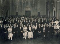 Technikos fakulteto dėstytojų ir studentų naujametinis pobūvis, 1938 m. (Originalas – Vytauto Didžiojo karo muziejuje)