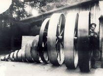 Garvežių gamykloje Bežicoje, Oriolo sr. 1907–1908 m