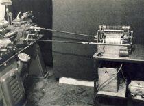 Prof. K. Vasiliausko sukurtas prietaisas – kinematorius, 1944 m.