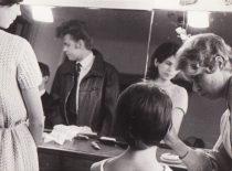 Grimo kambaryje, 1962 m. (Originalas – S. Dubinskaitės-Šablinskienės archyve)