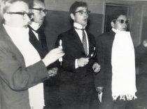 Naujų narių krikštynos, 1967 m. rugsėjo 30 d. (Originalas – N. Krasauskaitės archyve)