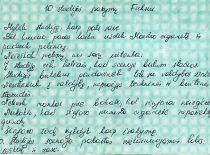 Įsakymai naujam teatro nariui, 1986 m. (Originalas – Lukošiūnų šeimos archyve)
