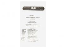 """Spektaklio """"Baltaragio malūnas"""" programėlė estų k., 1986 m. Viljandyje (Estijos SSR) vykusiame 7-ajame Pabaltijo ir Baltarusijos mėgėjų teatrų festivalyje KPI liaudies teatras laimėjo """"GRAND PRIX"""". (Originalas – Lukošiūnų šeimos archyve)"""
