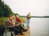 """1966–1976 m. """"studijokų"""" susitikimas, 1998 m. (Originalas – Antano Baranausko archyve)"""