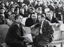 KPI rektorius K. Baršauskas ir prorektorius R. Chomskis, 1963 m.