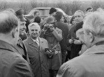 KPI kultūros dienos Radviliškio rajone, 1974 m. (Bartkevičiaus nuotr.)