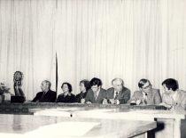 Studentų mokslinės draugijos ataskatinėje-rinkiminėje konferencijoje, 1980 m.