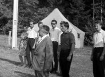 Stovykloje Kapitoniskėse, 1966 m.