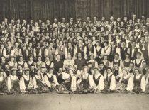KPI dainų ir šokių ansamblis, 1958 m. (Originalas – prof. A. Vitkausko archyve)