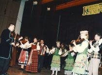 Koncertas Lietuvos universiteto Kaune 75-erių metų jubiliejaus iškilmėse, 1997 m. (J. Klėmano nuotr.)