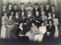 Su grupe Kauno politechnikos instituto studentų,1980 m.