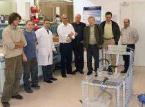 TROY projekto dalyviai eksperimentinių tyrimu metu LABOR firmoje Romoje, 2008 m.