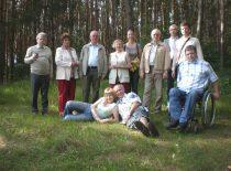 Ultragarso instituto darbuotojai prieš vasaros atostogas, 2009 m.