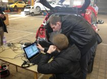 """Projekte """"Spotrack"""" sukurtos įrangos bandymai Didžiojoje Britanijoje, 2013 m."""