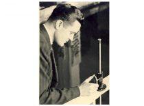 V. Paliūnas – KPI asistentas,1957 m.