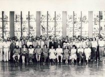 Kovo 11-osios nepriklausomybės akto signatarai Seime, 1992 m. (G. Ridukonio nuotr.)