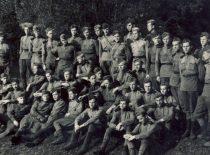 V. Paliūnas karinio parengimo stovykloje,1952 m.