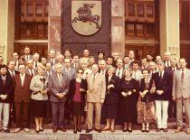 Seimo nariai 1993 m. gegužės 5d. (Originalas – A. Patacko asmeniniame archyve. V. Jasinevičiaus nuotr.)