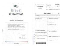 Prof. K. Baršausko ultragarso mokslo instituto mokslininkų patentas aukštos temperatūros aplinkų diagnostikos technologijai. Prancūzija, 2018 m.