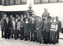 Prof. K. Baršausko ultragarso probleminės laboratorijos kolektyvas,1984 m.