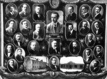 Aukštesniosios technikos mokyklos I laidos vinjetė, 1925 m. (Gravrogkų archyvo nuotr.)