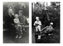 A. Gravrogkas su žmona Stefanija ir sūnumi Vytautu-Kristupu Palangoje apie 1930 m. (Gravrogkų archyvo nuotr.)