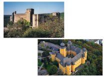 Gravrogkų protėvių valdytos pilys Vokietijoje: kairėje – Hohenšteino pilis, valdyta XV–XVII a. , dešinėje – Mantabauro pilis, valdyta XV–XVI a.
