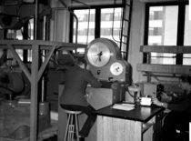 Statybos fakulteto gelžbetonio konstrukcijų laboratorija, 1966 m.