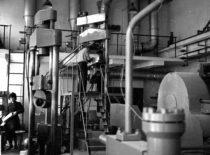 Statybos fakulteto gelžbetonio konstrukcijų laboratorija, 1970 m.