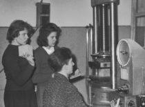 Statybos fakulteto studentų mokslinės draugijos nariai, 1963 m. (V. Varno nuotr.)