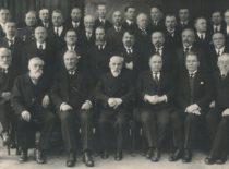 Technikos fakulteto mokslo personalas, 1932 m. (Originalas – KTU muziejuje)