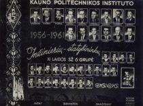 Inžinierių statybininkų XI laidos vinjetė, 1956–1961 m.