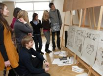 Architektūros darbų gynimai, 2012 m.